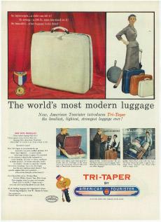 Pioneer luggage